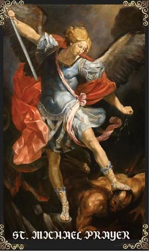 Prayer Card- Prayer to St Michael (English)