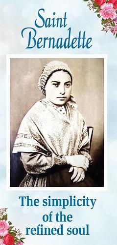 Flyer - Saint Bernadette