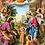 Thumbnail: Carte de prière - Invoquons la sainte Vierge, saint Joseph, notre bon Ange et...