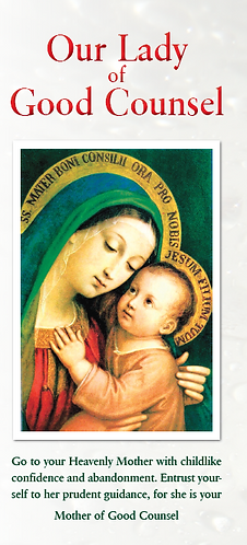 Flyer- Our Lady of Good Counsel