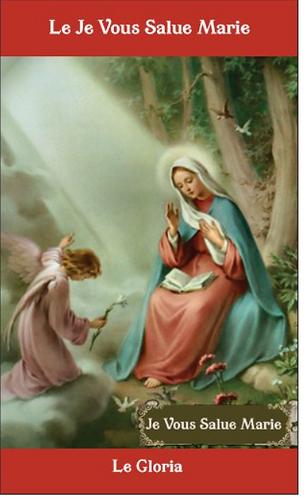 Carte de prière -  Je Vous Salue  Marie