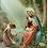 Thumbnail: Carte de prière -  Je Vous Salue  Marie