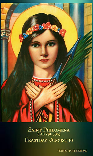 PRAYER CARD-St Philomena 2