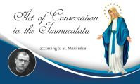 ACT of CONSECRATION Card