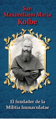 """Folleto -  """"San Maximiliano Maria Kolbe"""""""