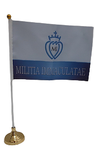 MI Handheld flag D2- with stick, without stand