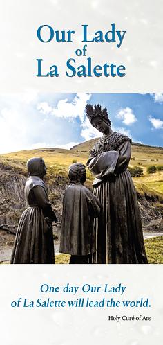 Flyer- Our Lady of La Salette