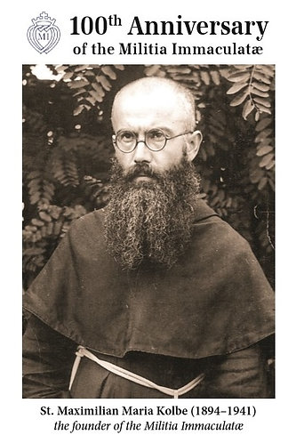 MI CARDS 1 - Prayer for the Feast of St Maximilian Kolbe