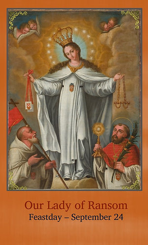 PRAYER CARD - Our Lady of Ransom