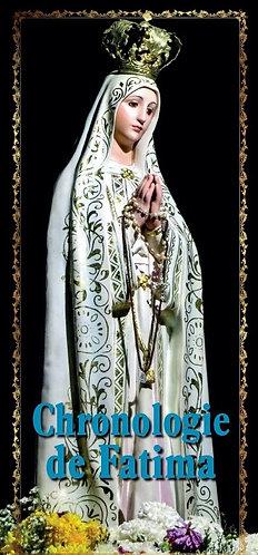 Dépliants-Chronologie de Fatima
