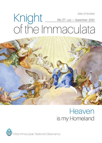 """""""Knight of the Immaculata""""  No. 22"""