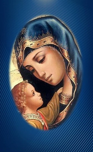 Tarjetas de oración - O Maria sin pecado concebida