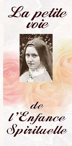 Dépliants -La petite voie de l'Enfance Spirituelle