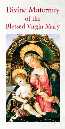 FLYER -Divine Maternity of BVM