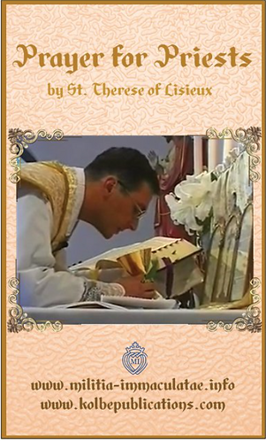 Prayer Card- Prayer for Priests