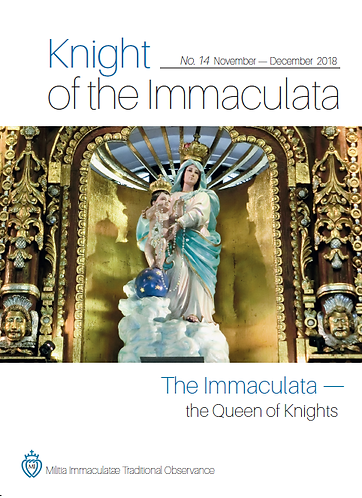 """Knight of the Immaculata""  No.14"