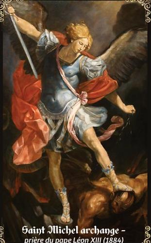 Carte de prière-  St Michel Archange
