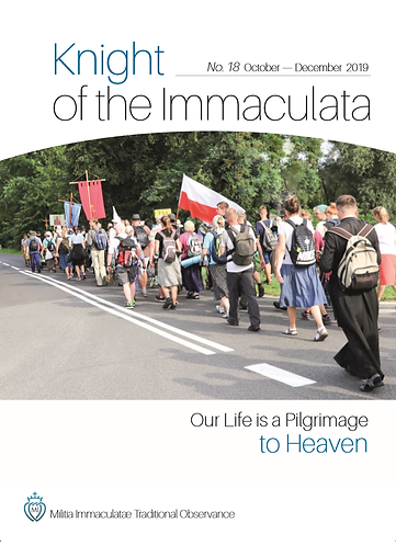 """""""Knight of the Immaculata""""  No.18"""