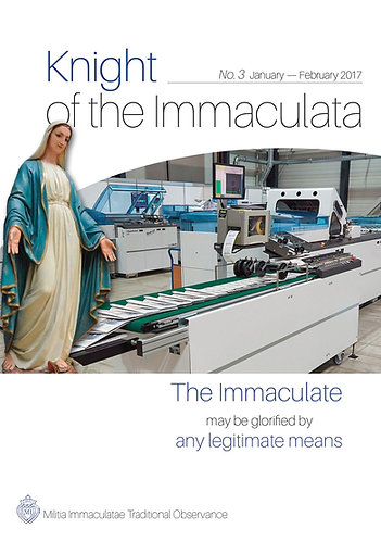 """""""Knight of the Immaculata"""" No. 3"""