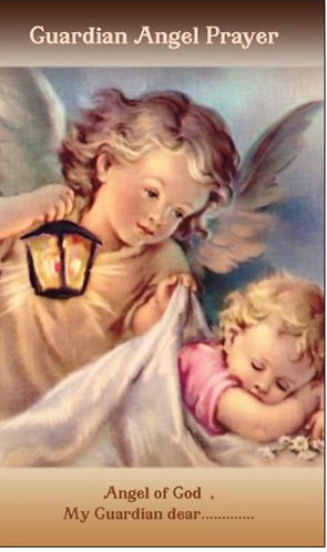 Children Guardian Angel Night Prayer