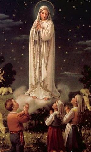 PRAYER CARD - FATIMA (O MY JESUS) PRAYER  IN LATIN