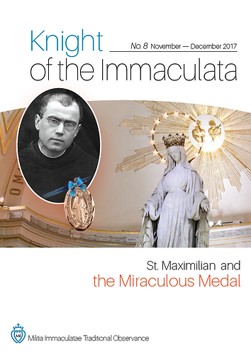 """Knight of the Immaculata""  No.8"