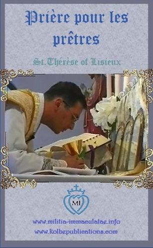 Cartes-prière : Prière pour les prêtres