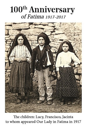 FATIMA CARD 5 - The Children of Fatima