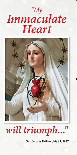 My Immaculate Heart will triumph