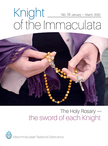 """""""Knight of the Immaculata""""  No.19"""