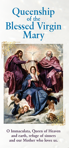 Flyer- Queenship of The Blessed Virgin Mary