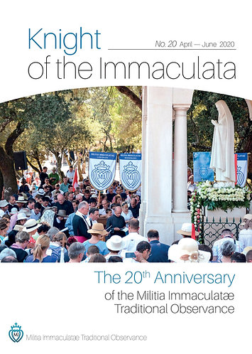 """""""Knight of the Immaculata""""  No. 20"""