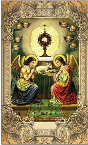 PRAYER CARD- FATIMA ANGEL PRAYER