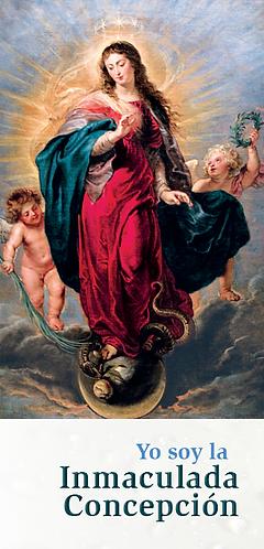 """FOLLETO-""""Yo soy la  Inmaculada Concepción"""""""