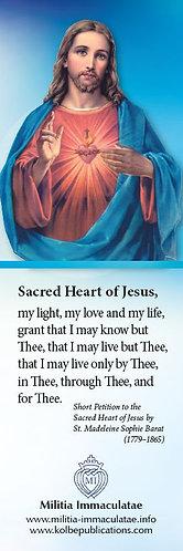 Book Mark- Sacred Heart /Immaculate Heart