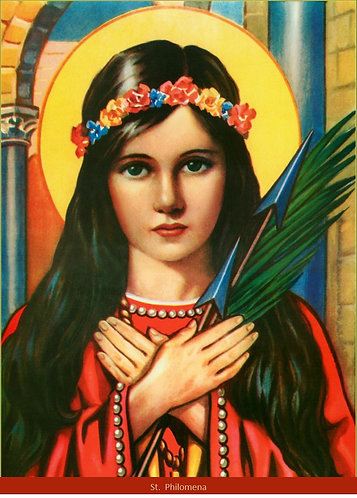 Poster- St. Philomena 2