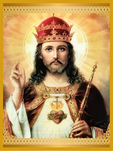 CHRIST THE KING POSTER - A4