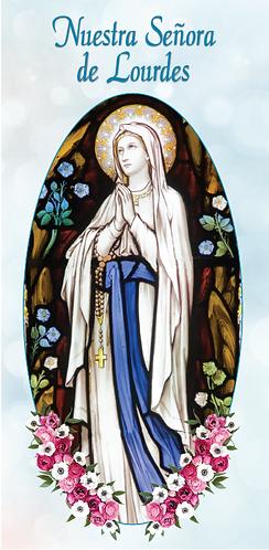 Folleto :  Nuestra Señora de Lourdes