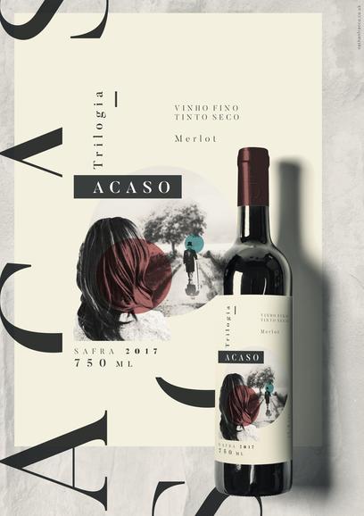 Vinho Trilogia - Acaso [Nathan Franco]