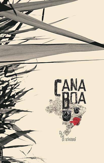 Rótulo - Cachaça Artesanal Cana Boa