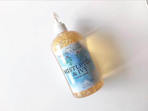 MISTLETOE & IVY LIQUID SOAP