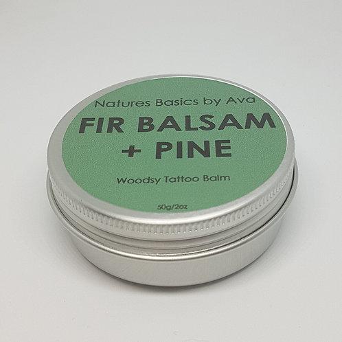 FIR BALSAM & PINE TATTOO BALM