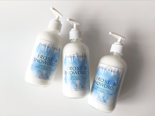 FROST & SNOWDROPS HAND & BODY LOTION