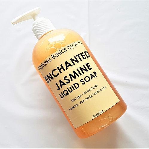 ENCHANTED JASMINE LIQUID SOAP