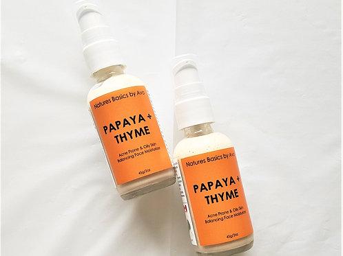 PAPAYA & THYME FACE MOISTURIZER