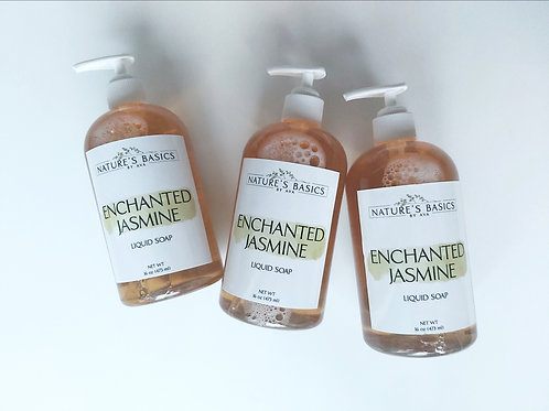 ENCHANTED JASMINE LIQUID SOAP