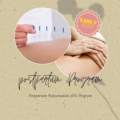 Early Bird - Postpartum Rejuvenation 2IN1 Program