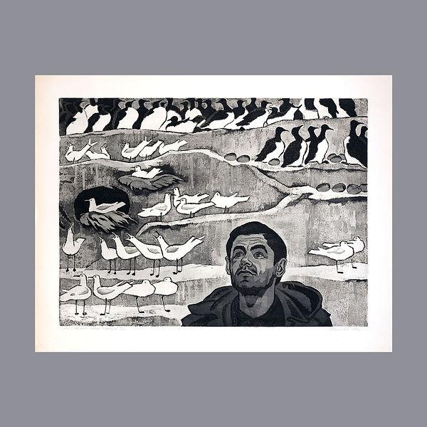 На птичьем базаре 80х62 1972г.JPG