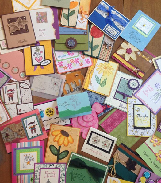 More beautiful cards from Day of Service!