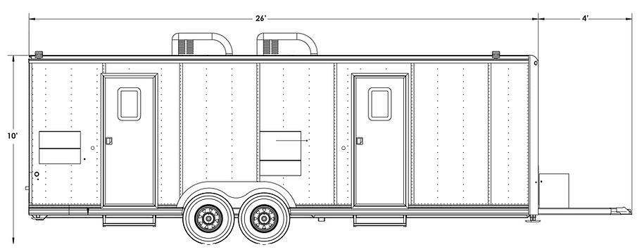 rec4box mobile broadcast production trailer unit (OB VAN)